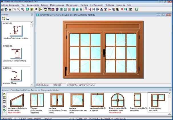 Imagen del Diseño Visual de Cerramientos de InGnio para Carpintería de Aluminio y PVC